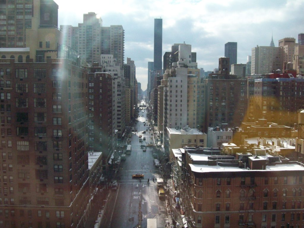 1°Avenue dalla Roosevelt Island Tramway, new york