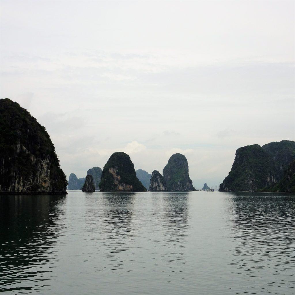 ha long bay hanoi vietnam