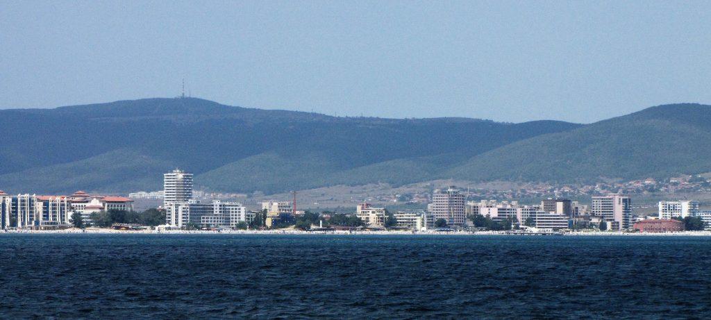 panorama di sunny beach