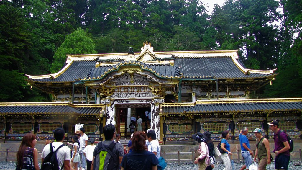 Nikko, Karamon del tempio principale
