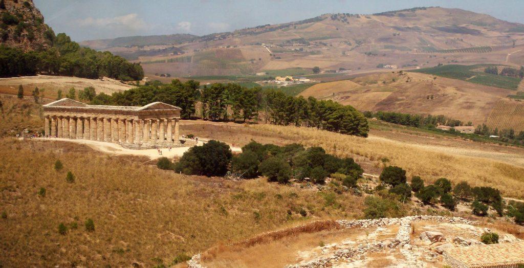 Panorama del Tempio , Segesta