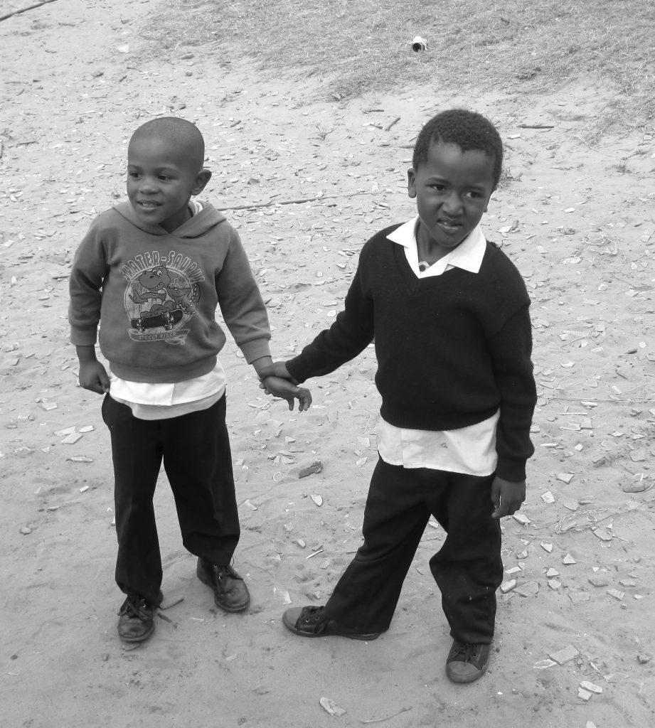 bambini in sudafrica