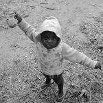 bambina sudafricana