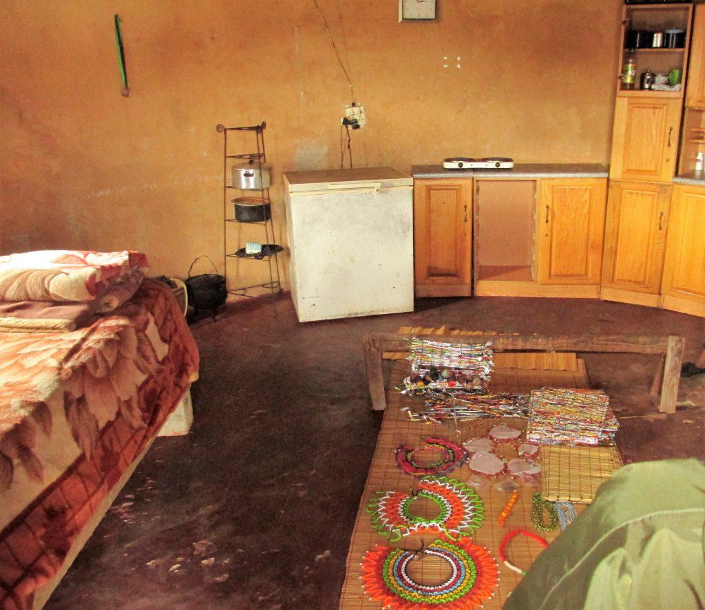 casa del villaggio sudafricano, interno