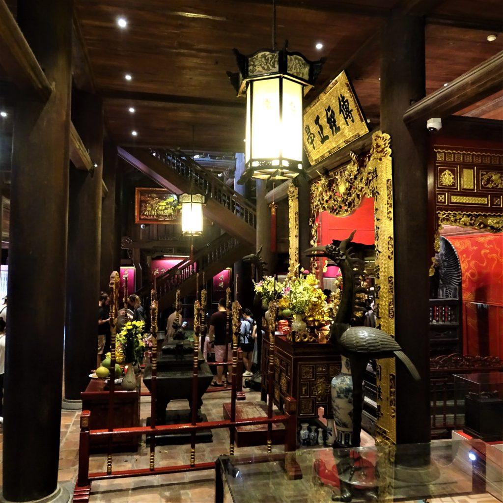 Tempio di Confucio, interno