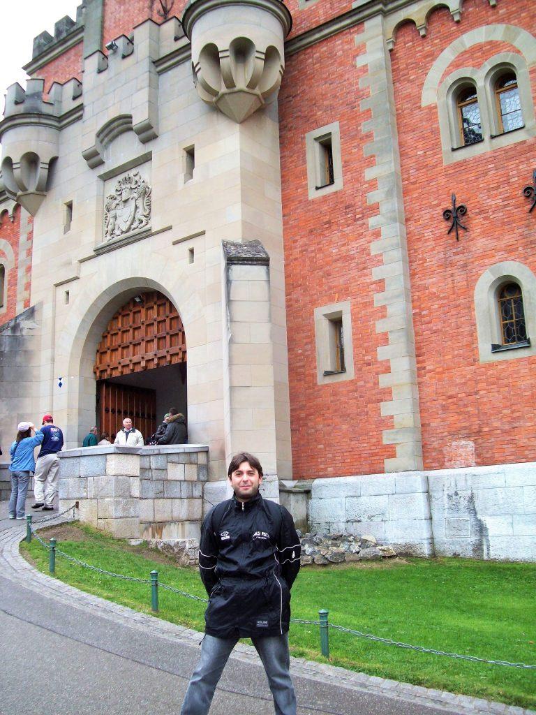 ingresso del castello di neuschwanstein