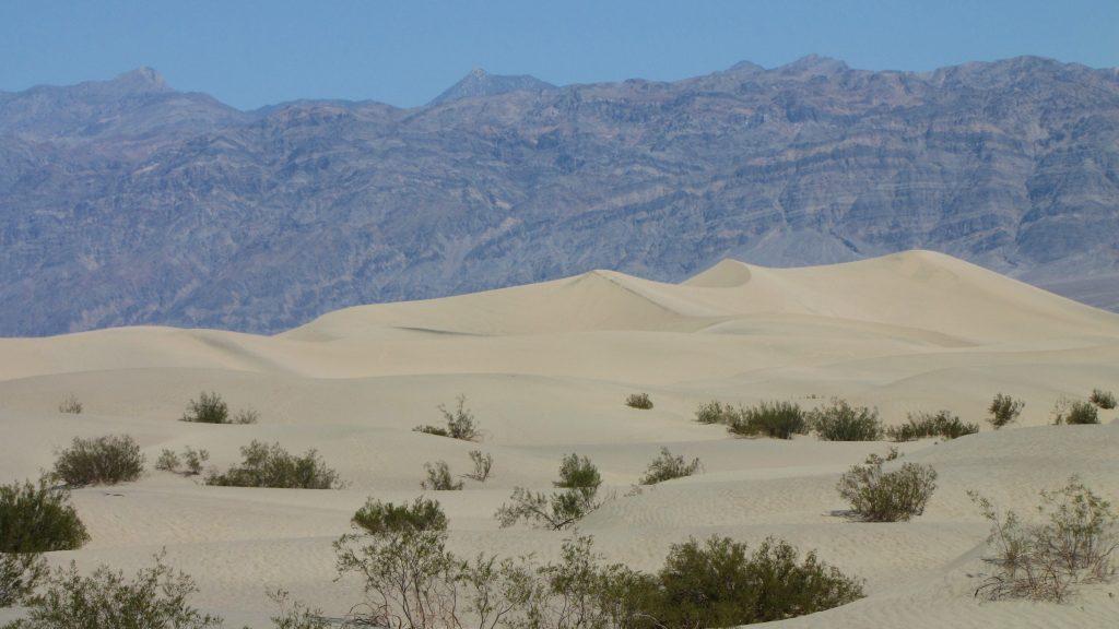 le dune della death valley