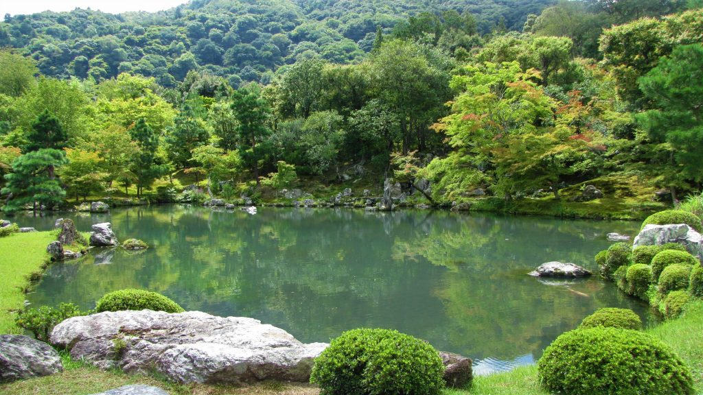 lago del tenryu-ji arashiyama