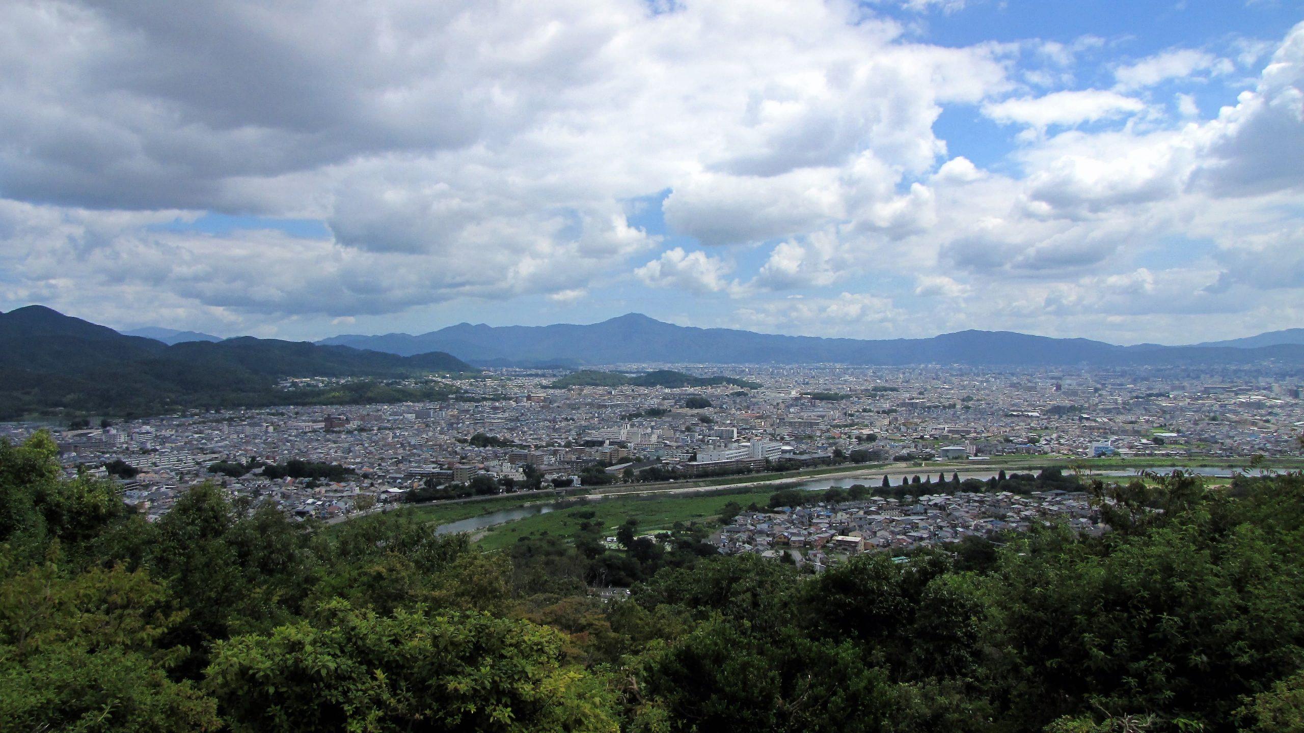 panorama di arashiyama
