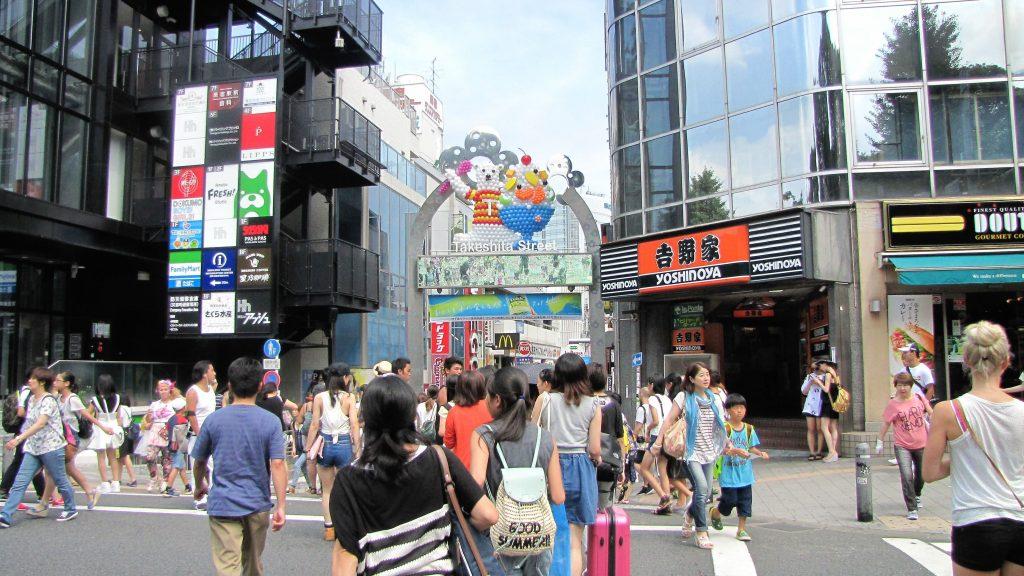 ingresso takeshita dori shibuya