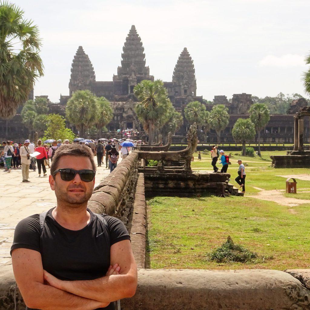 io ad Angkor Wat