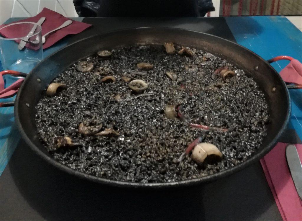 paella nigra