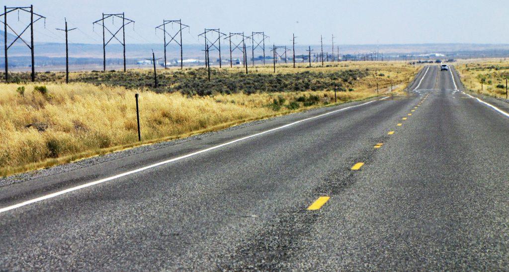 foto classica da road trip
