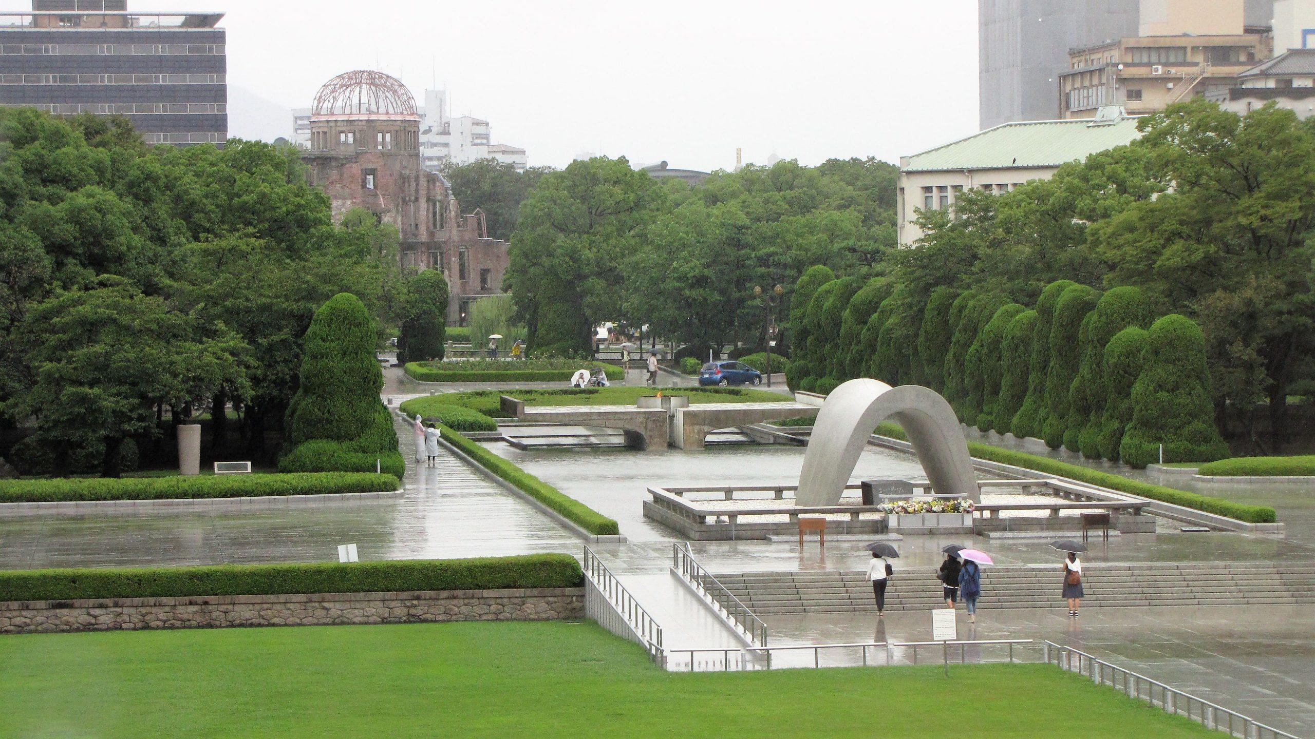 parco della pace di hiroshima