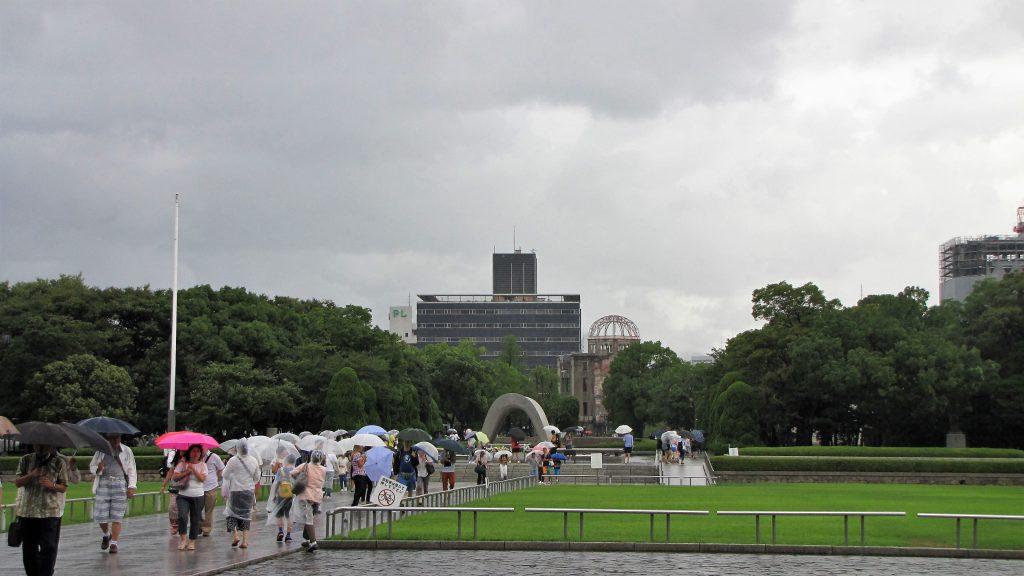 panoramica parco della pace di hiroshima