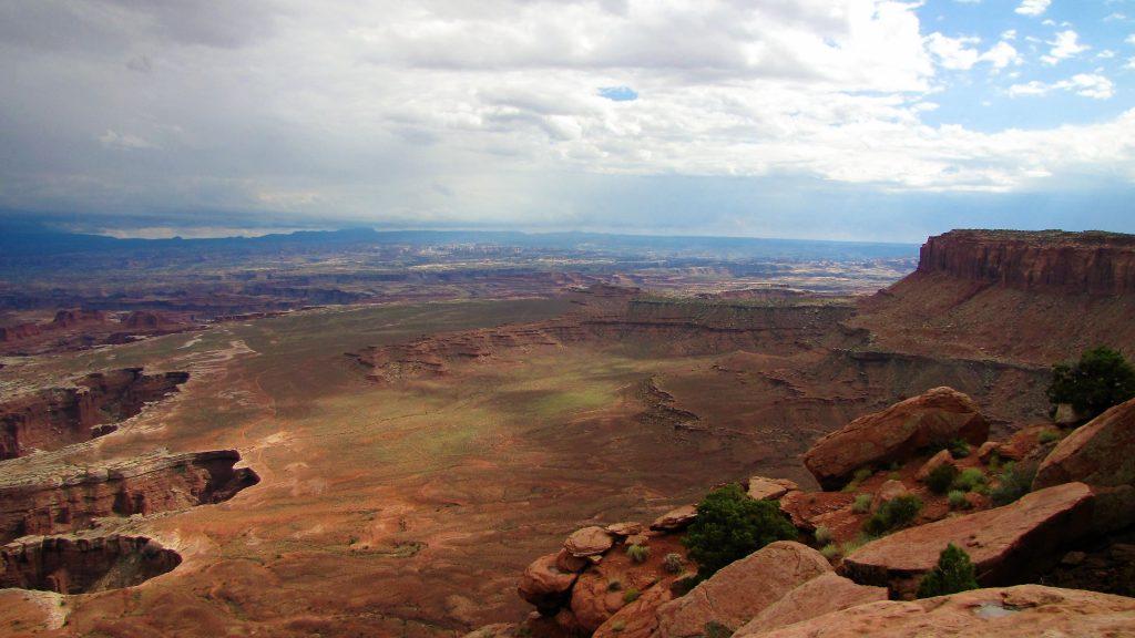 panorama di canyonlands