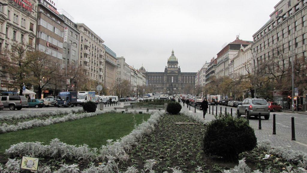 piazza san venceslao praga