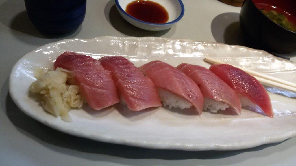 sushi di tonno