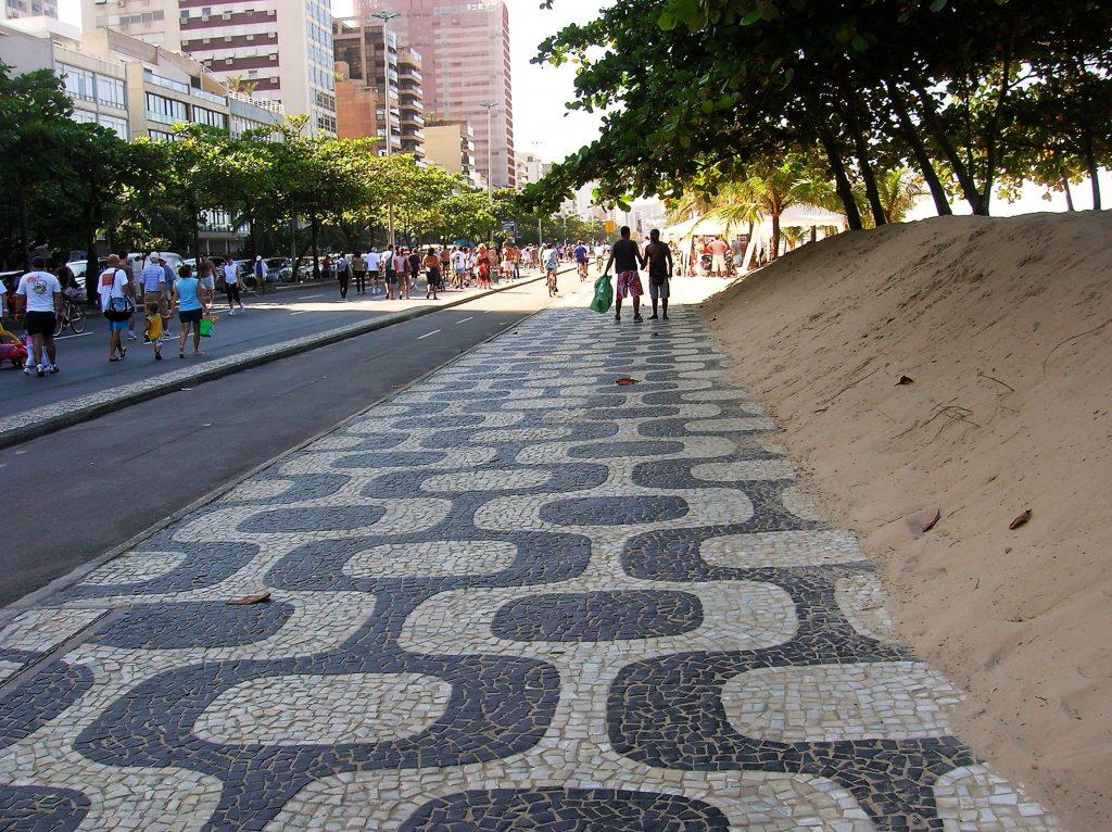 ipanema sidewalk